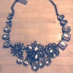 Jcrew statement necklace, vintage style